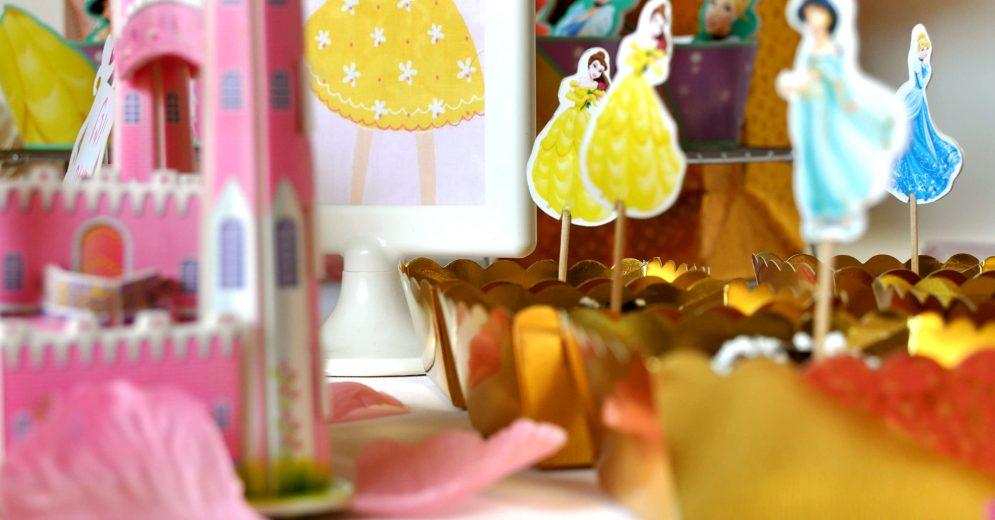 שולחן מתוקים ליום הולדת של בת נסיכה
